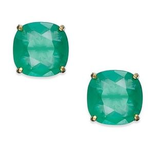 Kate Spade square gem earrings